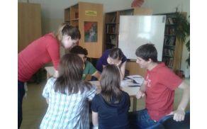 Gostili smo učence iz OŠ Deskle. Foto: OŠ Kanal