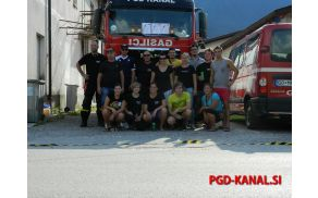 Skupinska slika PGD Kanal. Foto: Matic Zimic