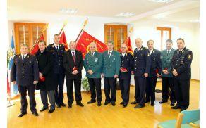 Svečane akademije ob 60 letnici Gasilske zveze Kobarid so se udeležili številni visoki gostje. Foto: Nataša Hvala Ivančič