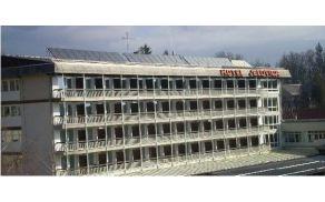 Solarne celice na hotelu Jelovica.
