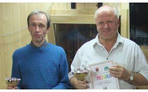 Najboljša šahista v občini, Tomo Omahna že tretjič prvak, Janez Hribar pa je bil dvakrat.