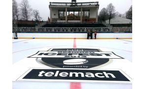 Drsališče na katerem bodo potekale tekme. Foto: HDD Telemach Olimpija.
