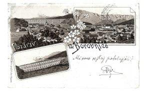 Borovniški viadukt (razglednica je del domoznanske zbirke Cankarjeve knjižnice Vrhnika)