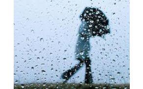 Močnejše deževje na našem območju