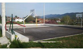 Novo igrišče za košarko
