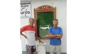 Markacisti so namestili obnovljeno omarico PD Slovenj Gradec