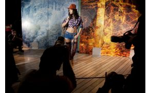 Aleš Bravničar je predstavil modno fotografijo (foto: Canon Adria).