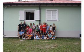 Gasilska slika udeležencev taborja. Foto: PGD Kanal