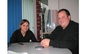 Primož in Barbara Štefanc