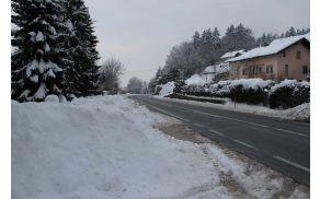 Zimska služba bo rekordno draga; občina naj bi zanjo odštela kar 114.000 evrov.