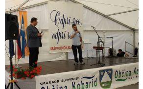 Predsednik DLB Posočje Božo Kanalec je pozdravil vse udeležence srečanja.Foto:N.H.I.