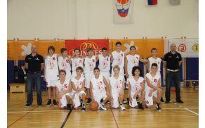 Ekipa U - 12 je dosegla največji dosežek podmladka ajdovske košarke