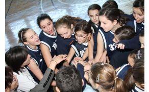 Spoštovanje, zaupanje, trud - pomembni za  košarkaško ekipo OŠ Vojnik