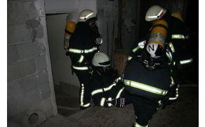 Nočna vaja gasilcev PGD Frankolovo