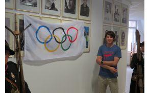 Olimpijski in svetovni podprvak Žan Košir ima svoje mesto tudi v Dvorani tržiških olimpijcev