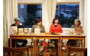 Fotograf in oblikovalec knjige Rok Bezeljak, Alenka Kodele, Karmen Gostinčar in Zdenka Žigon.