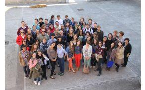 Udeleženci srečanja Comenius