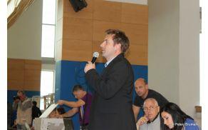 Turnir je odprl župan Mitja Horvat  (foto : Peter Brumen)
