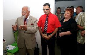 Dr. Raid Wahibi, dr. Diana Kveder Wahibi in častni konzul gospod Samir Amarin