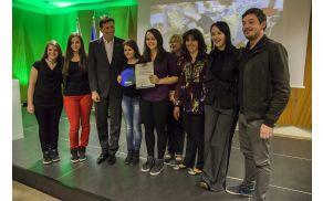 Nagrajence je sprejel predsednik RS Borut Pahor