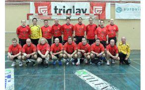 Mlajši veterani RK Trimo Trebnje.