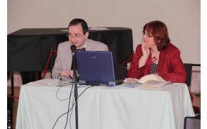 Publikacijo sta ob mednarodnem dnevu muzejev 17. maja 2013 predstavila avtor in kustodinja Mestnega muzeja Radovljica. Foto: StudioMeg.
