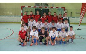 Ekipi RK Slovenj Gradec 2011 in DRŠAM na Äsvo turnirju v Grazu