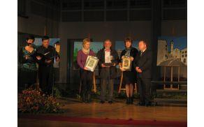 Nagrajenci Krajevne skupnosti Kanal 2011. Foto: Lora Zimic