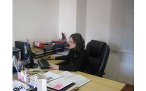 NIka Testen pri delu. Foto: Irena Hočevar Križnič