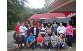 Skupina udeležencev :)