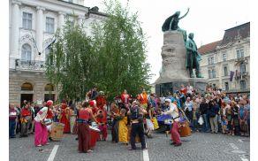 Festival Ana Destnica. Foto: Dunja Wedam, Turizem Ljubljana