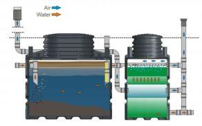 Predrezervoar in reaktor