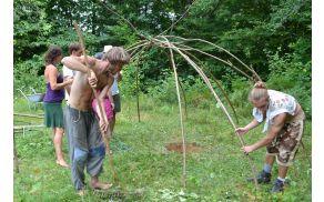 Izdelovanje indijanske potilnice