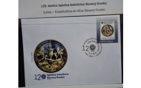 Filatelistična izdaja 120 let Splošne bolnišnice Slovenj Gradec