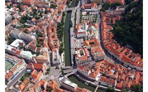 Udeleženci natečaja bodo slikali Ljubljano. Foto: P. Hieng, Turizem Ljubljana.