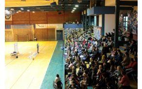 Polna športna dvorana (arhiv Druge OŠ SG)