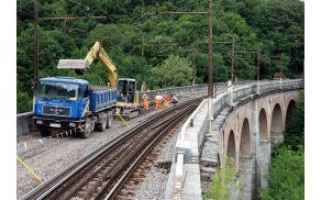Jelenov viadukt bo na temeljito sanacijo očitno moral še malce počakati.