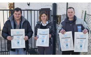 Priznanja prizadevnim borovniškim jamarjem (foto: JK Borovnica)