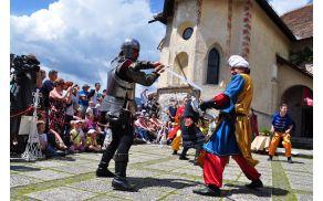 Srednjeveški dnevi vsako leto na grad privabijo množico obiskovalcev.