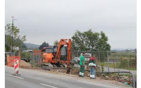 Gradnja kanalizacije in vodovoda v Dragomerju