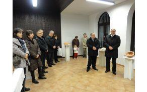 Zbrane sta nagovorila župan Andrej Maffi in predsednik KS Marko Bucik. Foto: Petra Paravan
