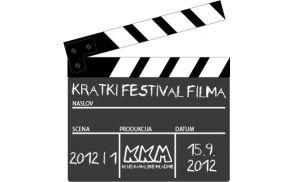 Nagradni natečaj Kratki festival filma je odprt do 5. septembra. Logo: KKM Kanal