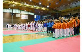 Tekmovalci Shotokan karate kluba Bohinj. Foto: Shotokan karate klub Bohinj
