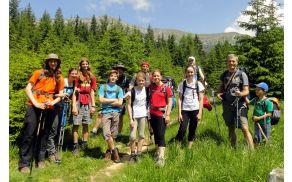 Planina Kofce je dva dni gostila naše planince.