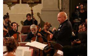 Anton Nanut in Orchestra di Padova e del Veneto. Foto: Toni Dugorepec