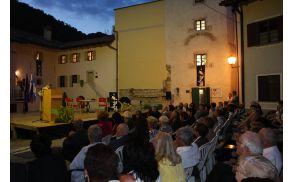 Boris Pahor je bil tudi slavnostni govornik. Foto: Toni Dugorepec