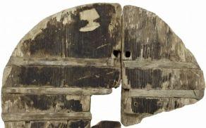 Najstarejše kolo na svetu, najdeno na Vrhniki (vir: FB MML)