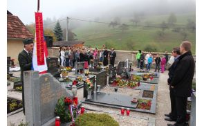 Komemoracija pri spomeniku na Frankolovem
