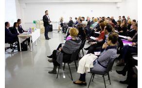 Konferenca Socialno podjetništvo danes za jutri. Foto: Boštjan Pucelj
