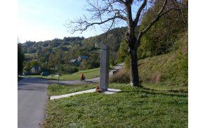 Spomenik žrtvam fašističnega procesa v Koprivišču, foto: Lea Širok